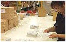 販促物・什器・パンフレットの流通管理