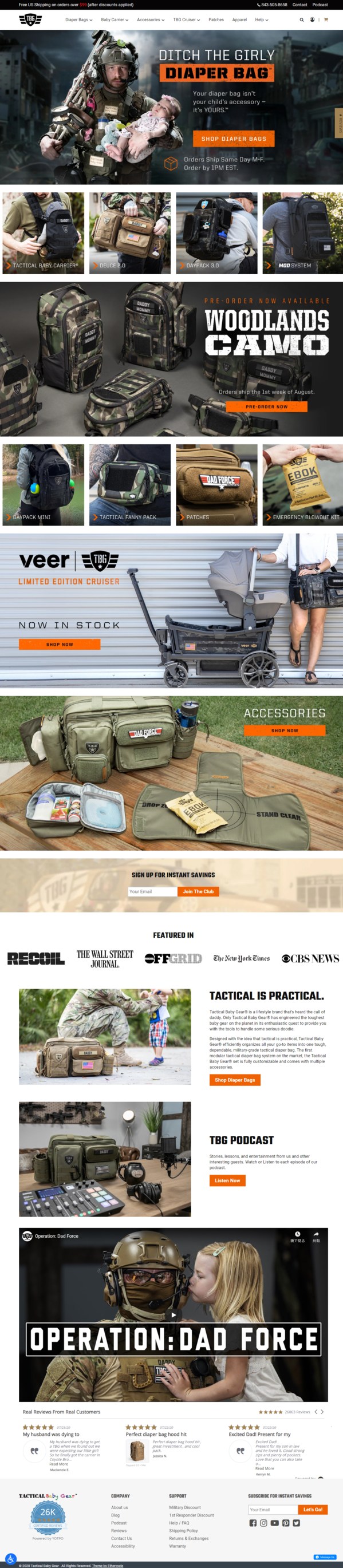 Tactical Diaper Bags® for dad   Tactical Baby Gear®.png